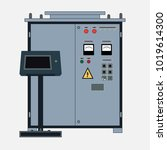 technical object  rectifier for ... | Shutterstock .eps vector #1019614300