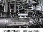 fragment of a complex... | Shutterstock . vector #1019623033