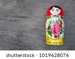 matreshka dolls  matreshka on... | Shutterstock . vector #1019628076