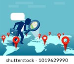 vector illustration of man... | Shutterstock .eps vector #1019629990