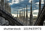 Roof Terraces Of Gothic Milan...