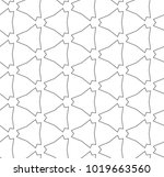 seamless geometric ornamental...   Shutterstock .eps vector #1019663560