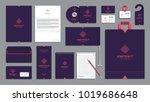 corporate identity branding... | Shutterstock .eps vector #1019686648