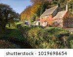 old cottage in nidderdale ... | Shutterstock . vector #1019698654