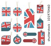 collection of united kingdom... | Shutterstock .eps vector #101970460