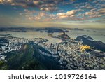 panorama of rio de janeiro seen ... | Shutterstock . vector #1019726164