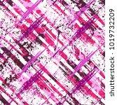 vector seamless bold plaid... | Shutterstock .eps vector #1019732209