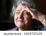 looking and thoughtful... | Shutterstock . vector #1019737129