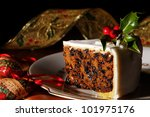 Slice Of Christmas Cake...