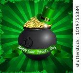 st patricks day symbol | Shutterstock .eps vector #1019755384