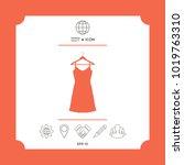 sundress  evening dress ...   Shutterstock .eps vector #1019763310
