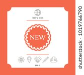 new offer icon | Shutterstock .eps vector #1019766790