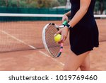 tennis player. close up photo... | Shutterstock . vector #1019769460