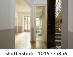 empty  old apartment interior... | Shutterstock . vector #1019775856