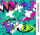 abstract seamless grunge... | Shutterstock .eps vector #1019780839