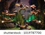 new york city  ny usa  ... | Shutterstock . vector #1019787700