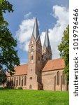 brick gothic monastery holy... | Shutterstock . vector #1019796466