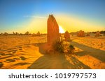 giant limestone formation... | Shutterstock . vector #1019797573