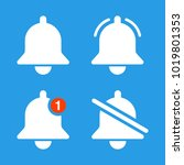 the notification bell icons set....