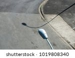 streetlamp and shadow | Shutterstock . vector #1019808340