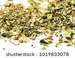 marijuana bud cannabis flower... | Shutterstock . vector #1019833078