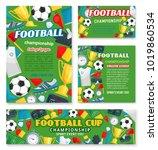 football sport championship... | Shutterstock .eps vector #1019860534