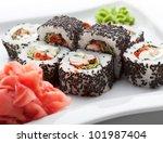 Japanese Cuisine   Sushi Roll...