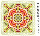 decorative colorful ornament on ...   Shutterstock .eps vector #1019879914