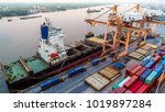 logistics and transportation of ...   Shutterstock . vector #1019897284