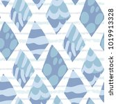 vector seamless pattern of... | Shutterstock .eps vector #1019913328