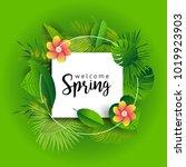 design banner with lettering... | Shutterstock .eps vector #1019923903