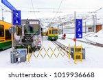 jungfrau switzerland jan 4 2017 ... | Shutterstock . vector #1019936668