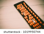 mental arithmetic background | Shutterstock . vector #1019950744
