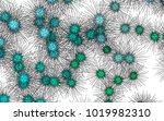 light colored vector pattern... | Shutterstock .eps vector #1019982310