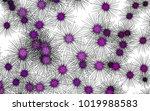 light colored vector pattern... | Shutterstock .eps vector #1019988583
