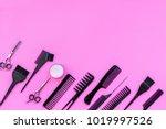 beauty saloon equipment.... | Shutterstock . vector #1019997526