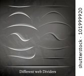 set of different web element... | Shutterstock .eps vector #101999920