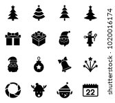 solid vector icon set  ... | Shutterstock .eps vector #1020016174