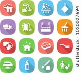 flat vector icon set   factory... | Shutterstock .eps vector #1020027694