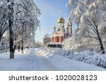 moscow region  russia   the... | Shutterstock . vector #1020028123