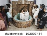Adult Baptism In Church