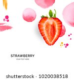 creative layout made of... | Shutterstock . vector #1020038518