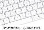 concept of computer keyboard... | Shutterstock . vector #1020045496