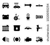 origami style icon set   car... | Shutterstock .eps vector #1020050254