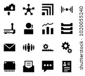 origami style icon set   cloud... | Shutterstock .eps vector #1020055240