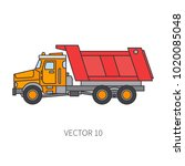 color flat vector icon... | Shutterstock .eps vector #1020085048