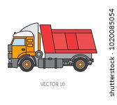 color flat vector icon... | Shutterstock .eps vector #1020085054