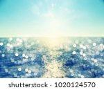 beach abstract holiday... | Shutterstock . vector #1020124570