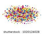 vector vibrant color holi paint ... | Shutterstock .eps vector #1020126028