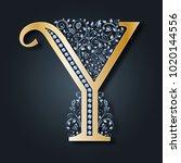 letter logo y. vector. abc....   Shutterstock .eps vector #1020144556